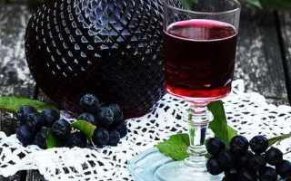 Рецепт самогона из черноплодки в домашних условиях