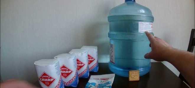 Как ставить брагу для самогона из сахара и дрожжей