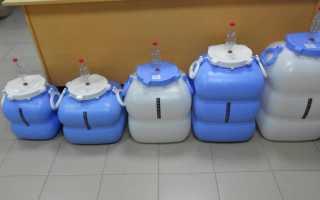 Возможность хранения браги в пластиковых и алюминиевых тарах