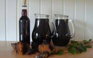 Настойка и применение самогона из чаги в домашних условиях