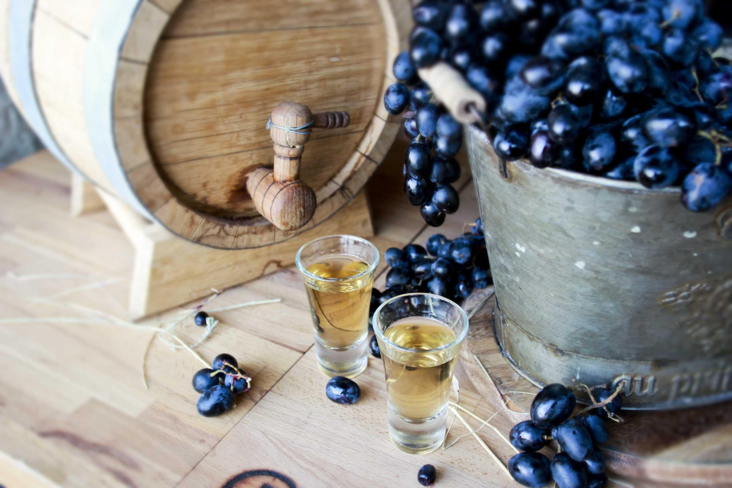 Самогон из винограда - домашний продукт высшего качества
