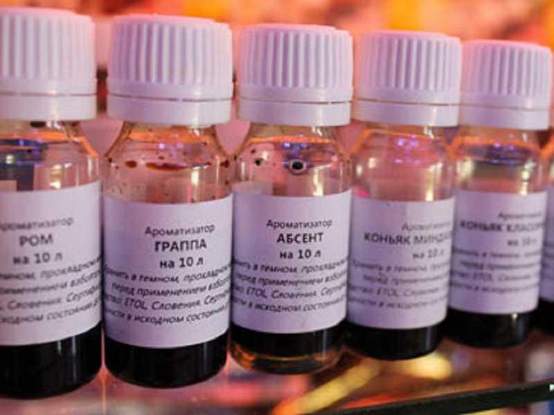 Ароматизаторы для самогона: подготовка алкоголя, добавки, цветовая палитра