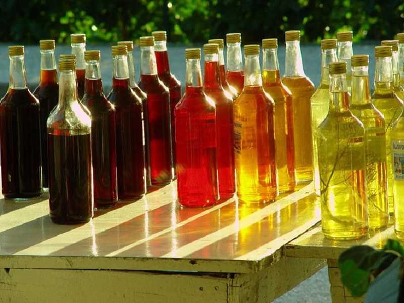 цветной алкоголь