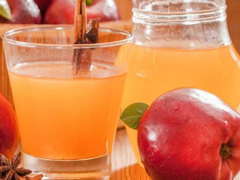 из яблочного сока