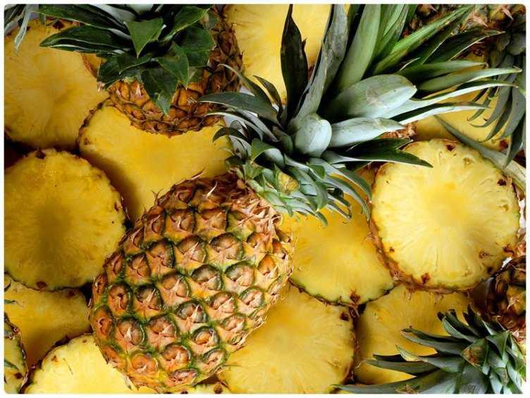 с ананасом